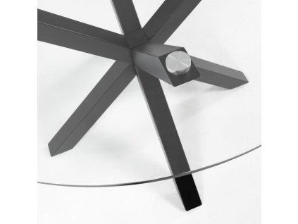 Kulatý skleněný konferenční stolek LaForma Arya