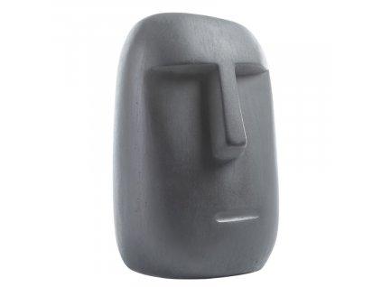 Tmavě šedá dekorativní soška LaForma Levin 31 cm