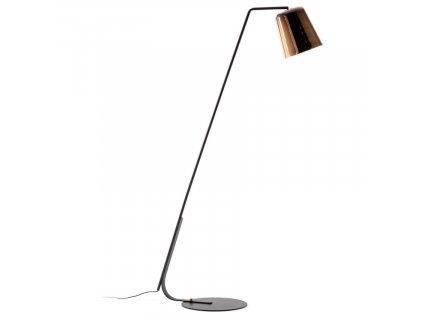 Bronzová stojací lampa LaForma Anina