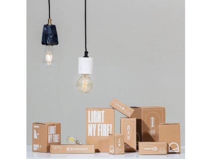 Dekorativní halogenová LED žárovka LaForma E27 3000k