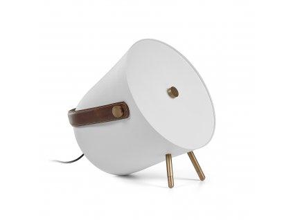 Bílá stolní lampa LaForma Match
