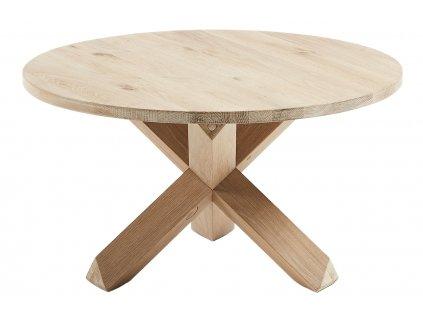 Dubový kulatý konferenční stolek LaForma Nori 65 cm