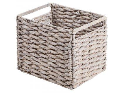 Bílý proutěný košík LaForma Woody848x848