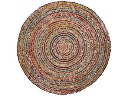 Pestrobarevný jutový koberec LaForma Samy 150 cm