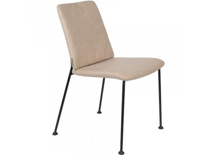 Béžová čalouněná jídelní židle ZUIVER Fab