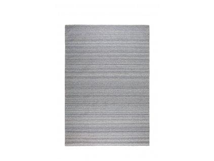 Stříbrně šedý koberec ZUIVER Sanders 170x240 cm
