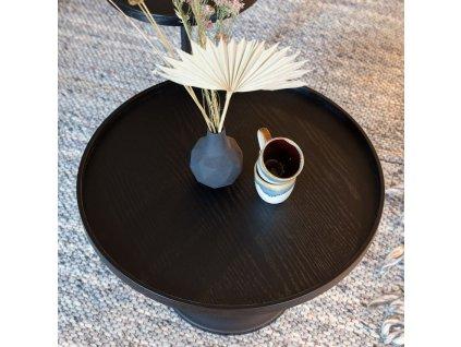 Černý konferenční stolek ZUIVER JASON