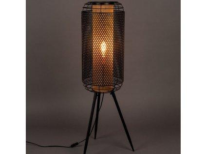 Stojací kovová lampa DUTCHBONE Archer XL