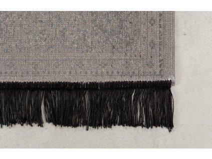 Šedý vzorovaný koberec WLL BO 160x230 cm