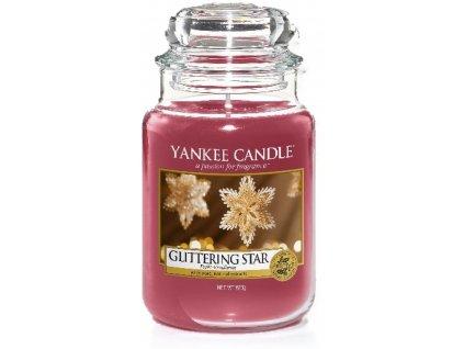 Velká vonná svíčka Yankee Candle Glittering Star