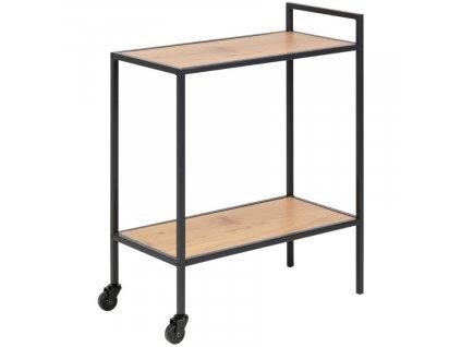 Dubový kuchyňský vozík Darila 60 cm