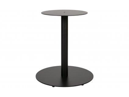 Černá kovová centrální stolová podnož Middle