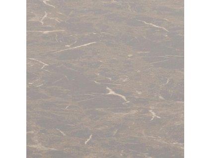 Hnědý mramorový kulatý jídelní stůl Calvin 110 cm