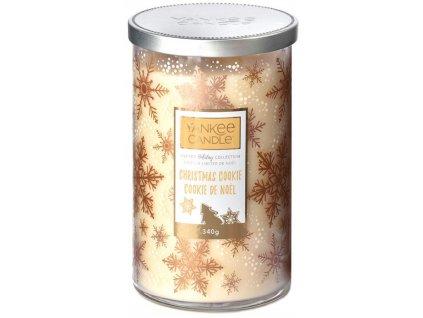 Střední vonná svíčka Yankee Candle Christmas Cookie Christmas Limited 2019