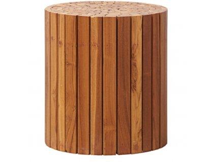 Dřevěný odkládací stolek Osborne