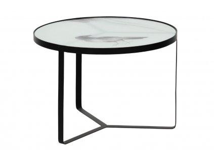 Skleněný odkládací stolek Corbie 55 cm