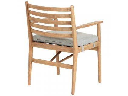 Přírodní látková zahradní židle LaForma Simja