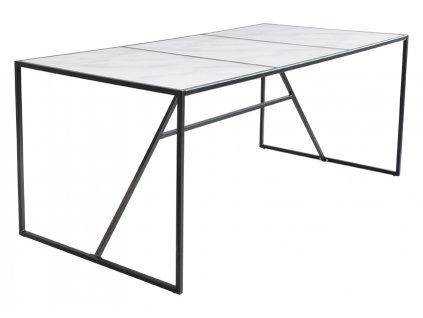 Bílý mramorový jídelní stůl RGE New York