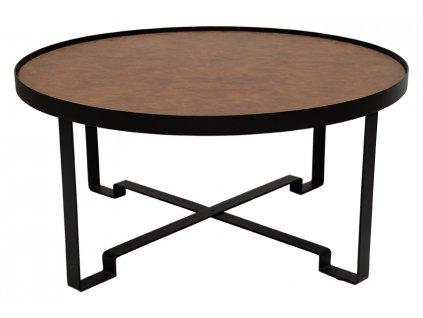 Dřevěný kulatý konferenční stolek RGE Lodge