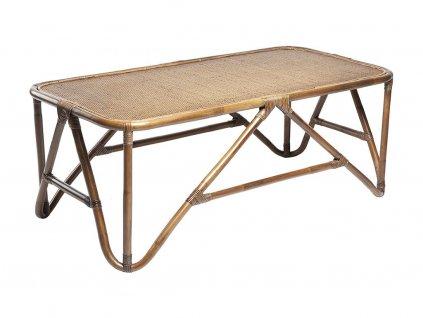Přírodní ratanový konferenční stolek RGE Sismondi 127 cm