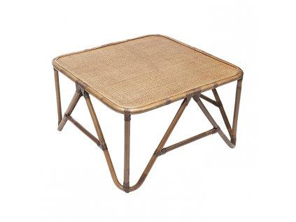 Přírodní ratanový konferenční stolek RGE Sismondi 87 cm