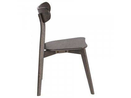 Hnědá dřevěná jídelní židle LaForma Safina s dřevěným sedákem