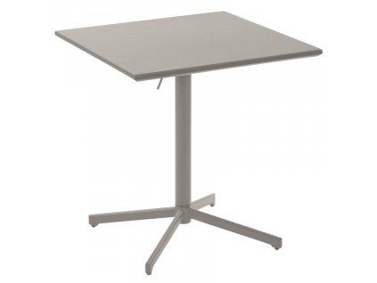 Šedý skládací kovový stůl LaForma Advance