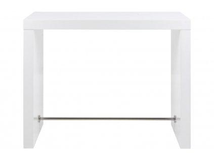 Bílý barový stůl Julien 130 cm