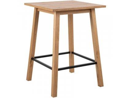 Přírodní dubový barový stůl Rachel 75 cm