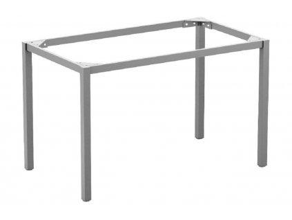 Šedá stolová podnož EASY 180 x 90 cm