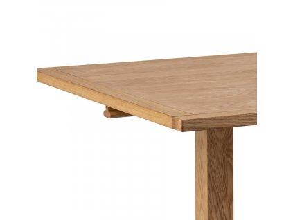 Dubový rozkládací jídelní stůl Lakon