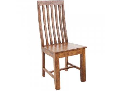 Masivní sheeshamová jídelní židle Cadem