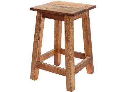 Masivní mahagonová stolička Jakr 45 cm