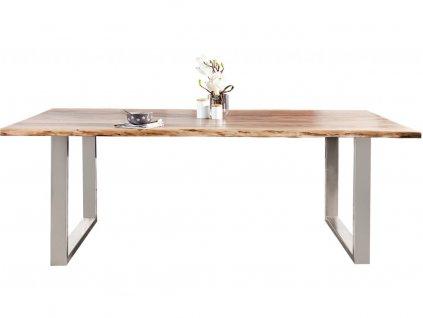 Masivní akátový jídelní stůl Holz 160 x 90 cm
