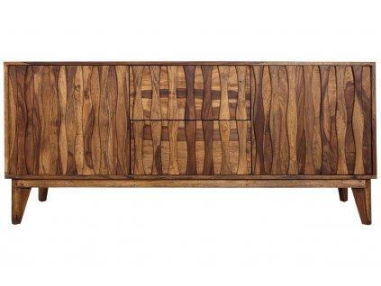 Masivní sheeshamová komoda Monteballo 160 x 45 cm