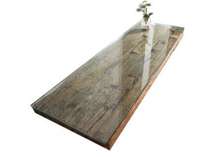 Skleněná deska Raw 120 x 100 cm