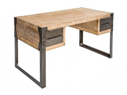 Masivní akátový pracovní stůl Paolo 135 x 70 cm