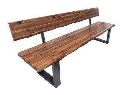 Masivní akátová lavice Roland 160 cm