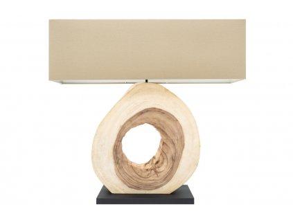 Béžová stolní lampa Iret