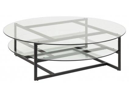 Skleněný konferenční stolek Gavon