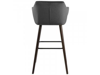 Šedá barová židle Marte
