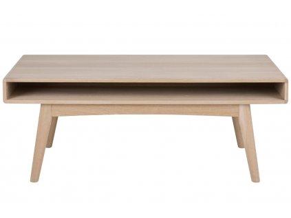 Světlý dubový konferenční stolek Aiko