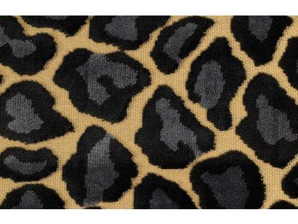 Černý koberec Bold Monkey It´s A Wild World Baby Panther 170x240 cm