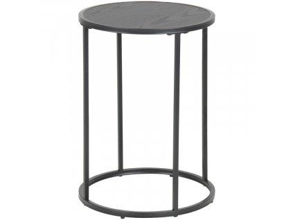 Jasanový kulatý odkládací stolek Darila 55 cm