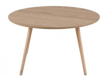 Jasanový konferenční stolek Stanfield 80 cm