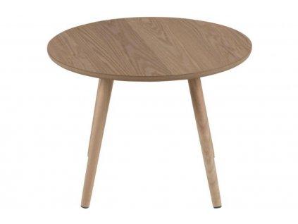 Jasanový odkládací stolek Stanfield 50 cm