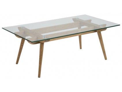 Skleněný konferenční stolek Costa 110 cm