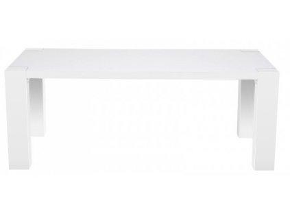 Bílý jídelní stůl Twist 180x90 cm