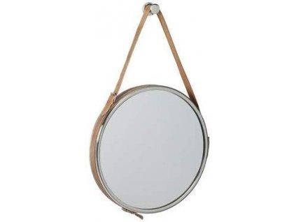 Závěsné chromované zrcadlo Emily
