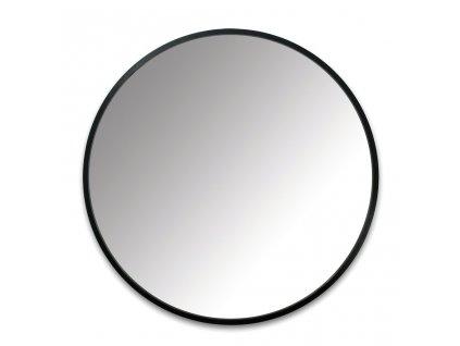 Černé kulaté závěsné zrcadlo Hubby 61 cm